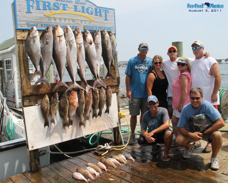 Destin florida deep sea fishing charters trips charter for Destin fishing guides